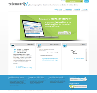 Telemetris-Homepage